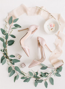 Ethereal stylish blush bridal inspiration