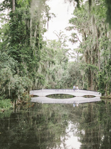 Ultra romantic southern wedding at Magnolia Plantation and Gardens in Charleston