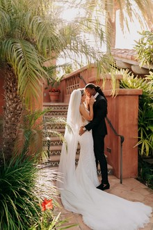 Sophisticated family wedding at Rancho Valencia in San Diego