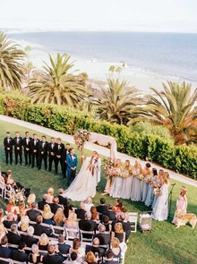 Bel Air Bay Club wedding