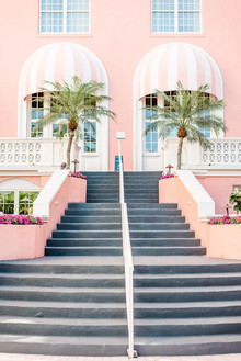 pink wedding venue