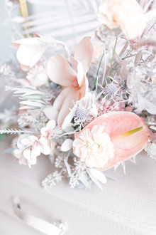 Pastell wedding flowers