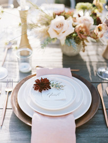 Fall place setting