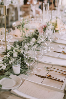 Glam rustic wedding