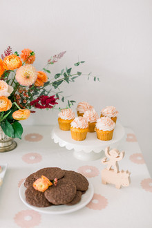 Summer to fall floral baby shower