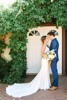 Project Darling: A woodsy enchanted emerald green wedding in Julian with an amazing story