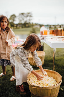 Modern prairie girl birthday party