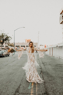 Indie boho city wedding at The Sandbox in San Diego