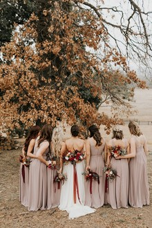 The most perfect fall wedding in apple country at Sacred Mountain in Julian, CA