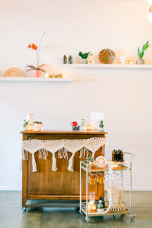 A rainbow Friendsgiving-inspired baby shower
