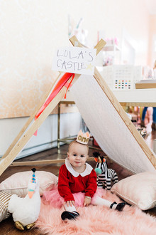 Lola Dutch first birthday party