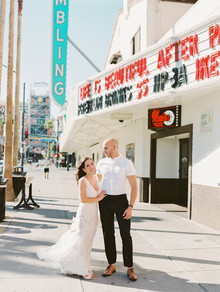 Las Vegas elopement with a Valley of Fire ceremony