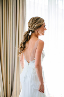 Modern beachy elegance at this Montage Laguna Beach Wedding