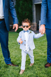 the cutest ring bearer ever!