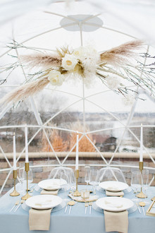 Winter white wedding ideas inspired by an ice storm