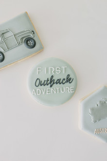 Australian outback first birthday party