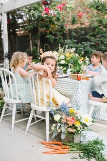 Peter Rabbit themed Easter brunch for kids