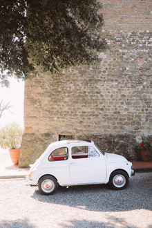 Romantic destination wedding at a pink Tuscan villa