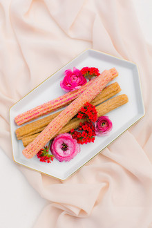 All pink Cinco de Mayo party with pink churros