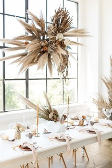Natural tone modern Wabi Sabi wedding ideas
