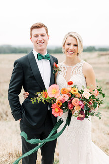 Jewel tone wedding at the Prospect House in Austin, Texas