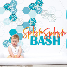 Surf themed 1st birthday party