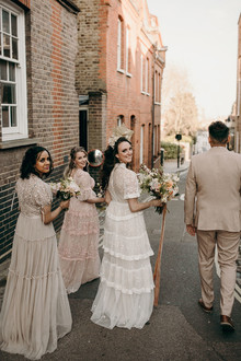 Needle & Thread bridesmaids