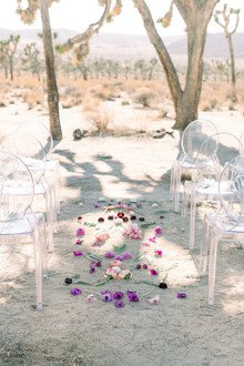 A chic, modern destination elopement at Joshua Tree National Park