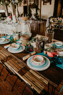 Colorful wedding inspiration from the Big Fake Wedding Kansas City