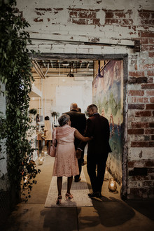 industrial modern wedding at the Museum of Contemporary Art Detroit