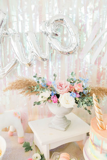 Pastel unicorn birthday party ideas