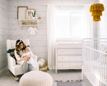 All white boy's nursery ideas