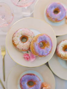 Modern pastel iridescent wedding ideas