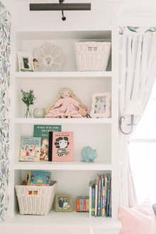 Girl's floral nursery ideas