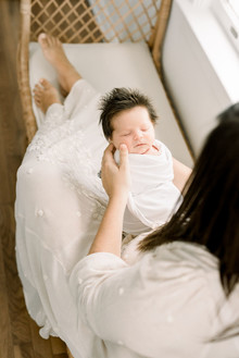 Family newborn photography