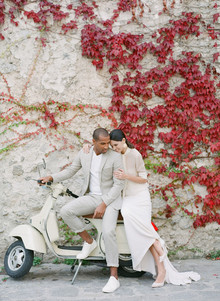 Chic wedding fashion shoot