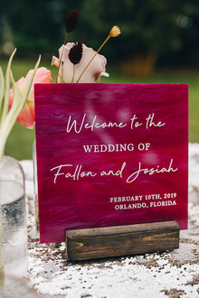Jewel toned bohemian wedding