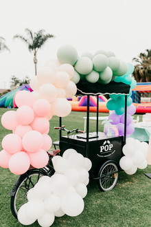 Pastel balloons for party