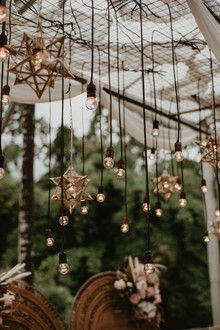 Hanging star lights
