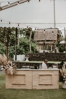 Boho wedding in Bali