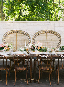 Bohemian head table