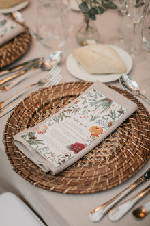 Spanish inspired place setting