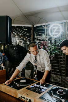 DART Collective wedding DJ