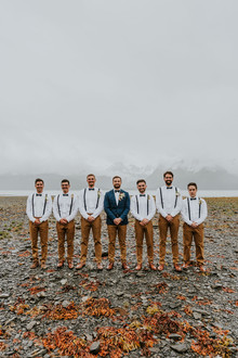 Casual groomsmen idea