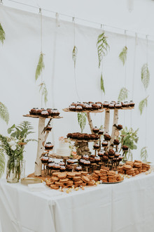 DIY dessert table
