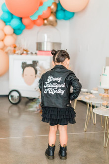 Strong women inspired girl's birthday party
