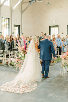 McKenna Bleu's blush + white North Carolina wedding