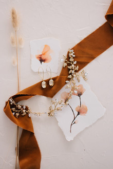 Watercolor wedding details