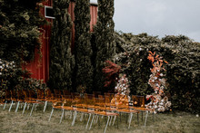 Unique wedding ceremony chairs