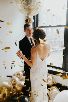 Confetti for NYE wedding